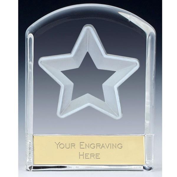 Precision Cast Glass Star