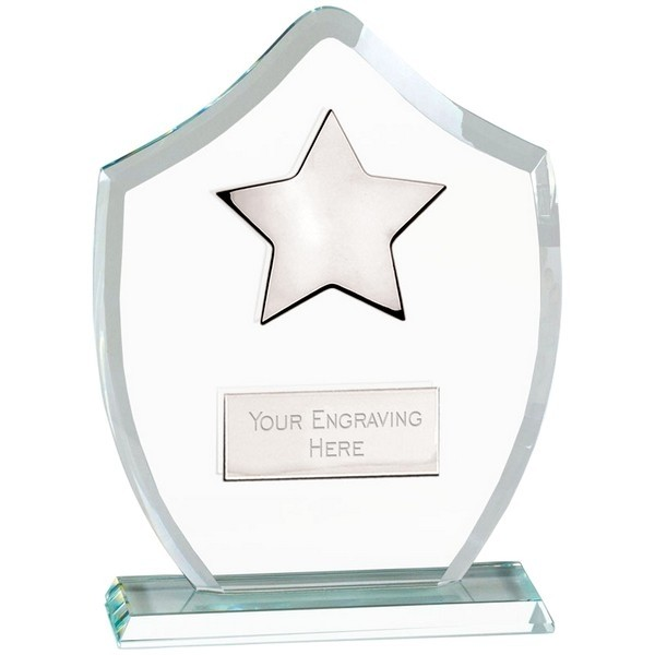 Washington Star Glass Trophy