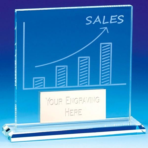 Sales Award Glass
