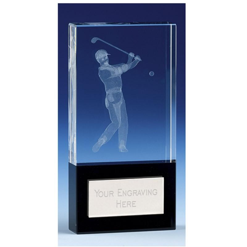 London Golfer Crystal