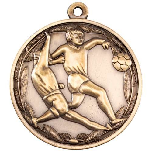 Double Footballer Medal
