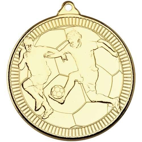 Football 'Multi Line' Medal