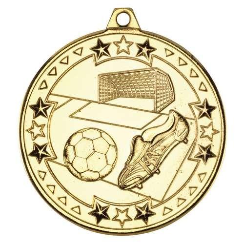 Football 'Tri Star' Medal