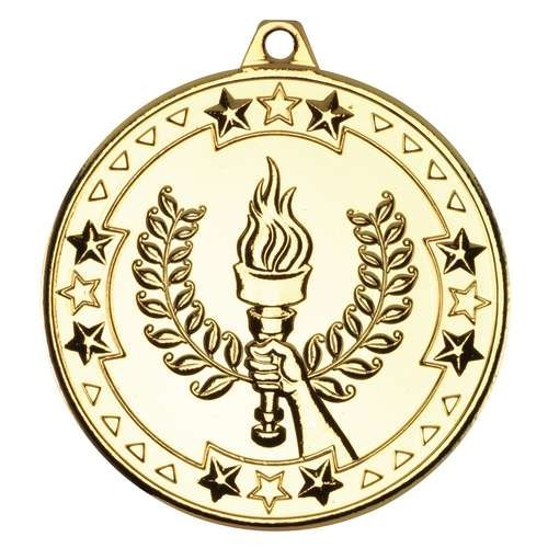 Victory Torch 'Tri Star' Medal