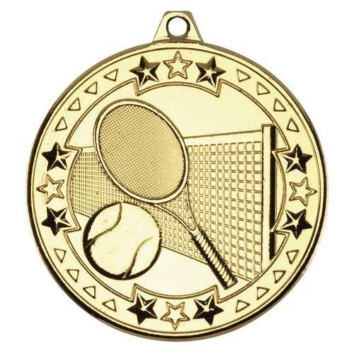 Tennis 'Tri Star' Medal