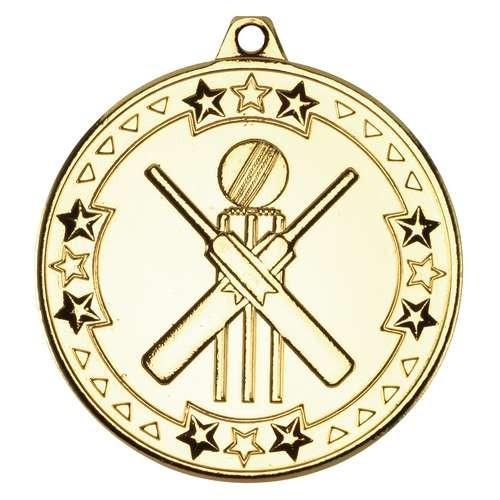 Cricket 'Tri Star' Medal