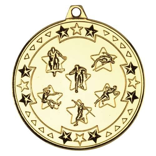 Multi Athletics 'Tri Star' Medal