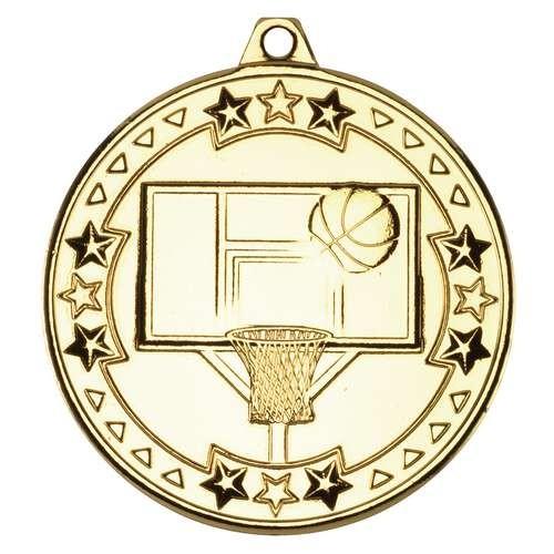 Basketball 'Tri Star' Medal