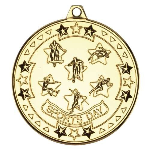 Sports Day 'Tri Star' Medal