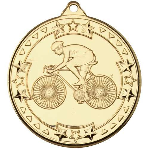 Cycling 'Tri Star' Medal