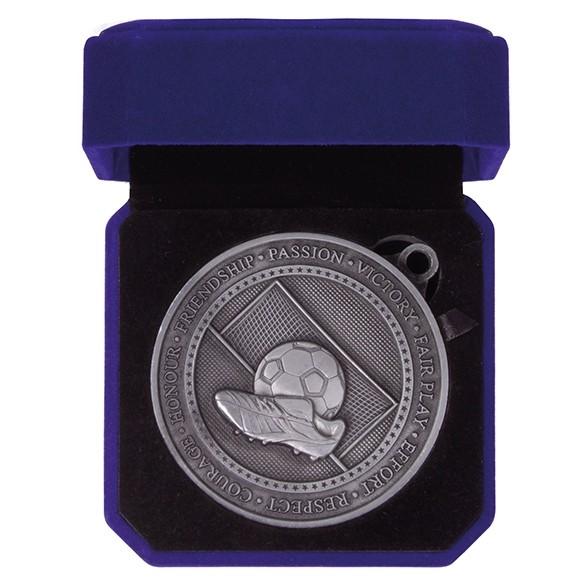 Olympia Football Boot Medal & Box
