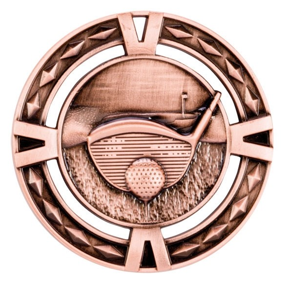 V-Tech Golf Medal