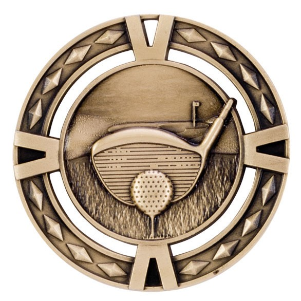 V-Tech Golf Medal