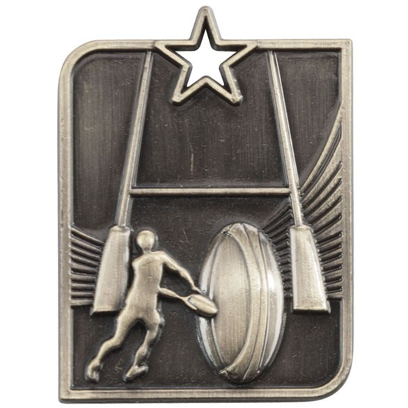 Centurion Star Series Rugby Medal