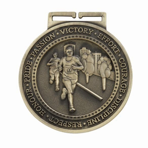 Olympia Running Medal Antique