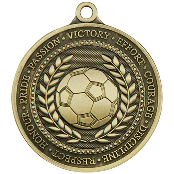 Olympia Football Medal 60mm