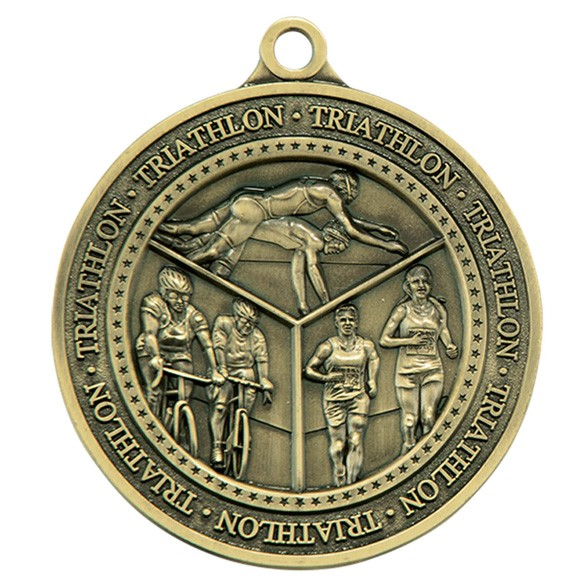 Olympia Triathlon Medal Antique