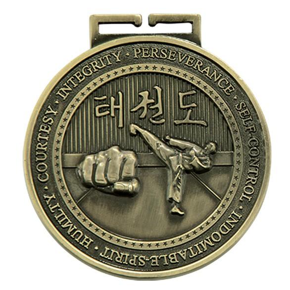 Olympia Taekwondo Medal Antique