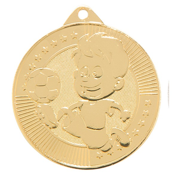 Little Champion Football Medal