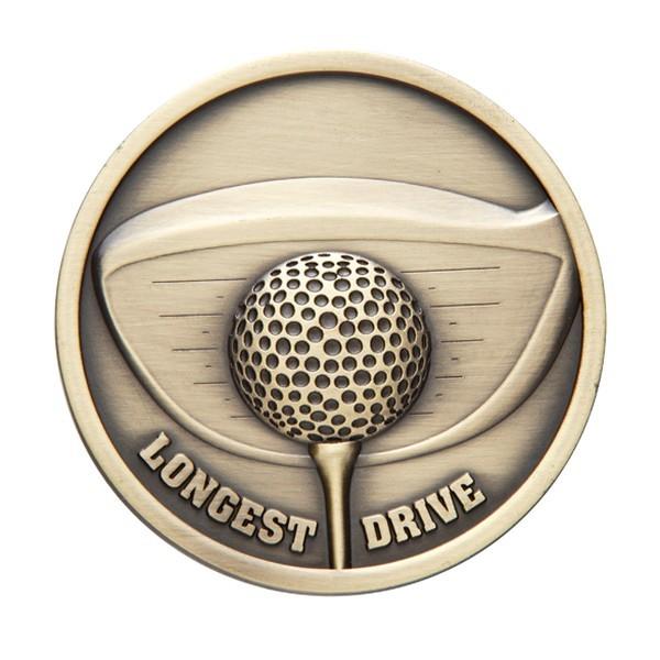 Links Series Golf Longest Drive Medal