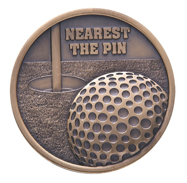 Links Series Golf Nearest The Pin Medal