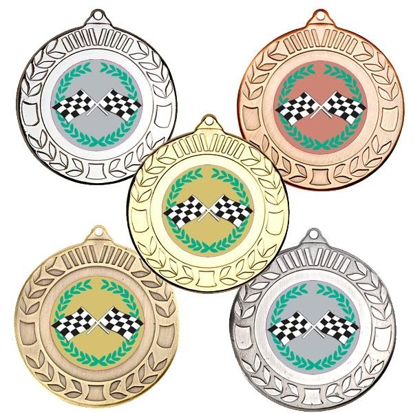Motorsport Wreath Medals