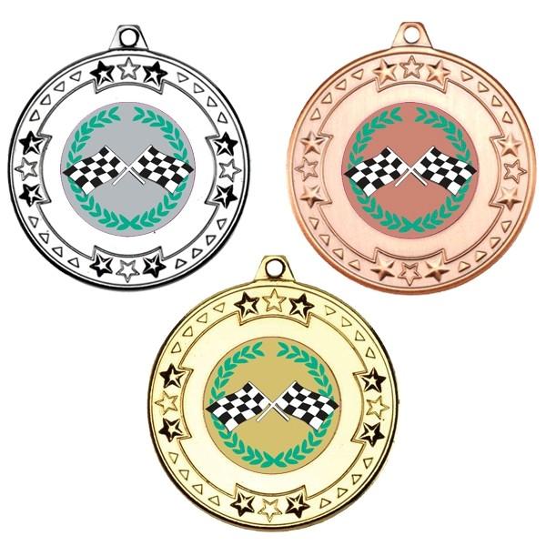 Motorsport Tri Star Medals