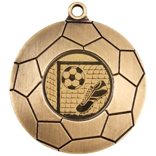 Domed Football Medal