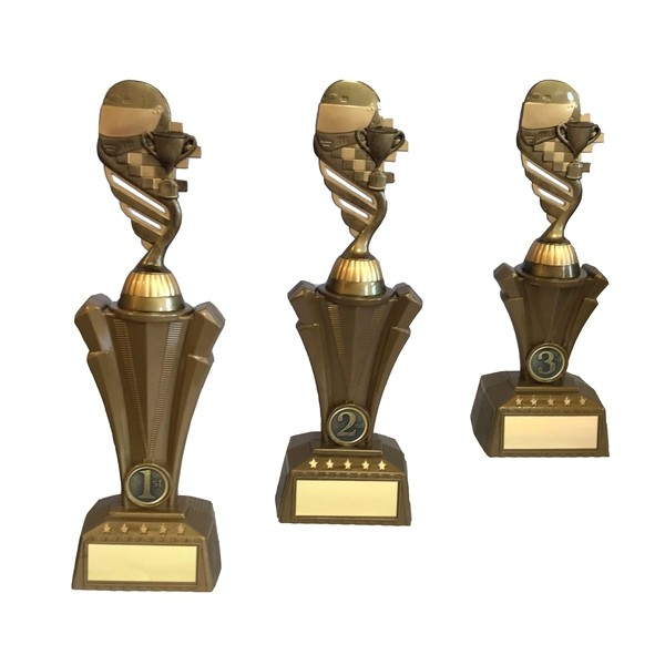 Plastic Motorsport Trophy Set