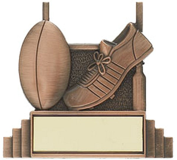 Rugby Boot and Ball Trophy