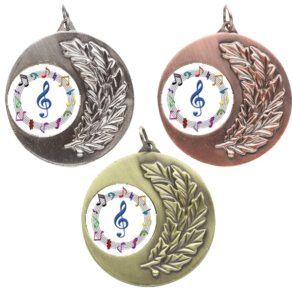 Music Laurel Medals