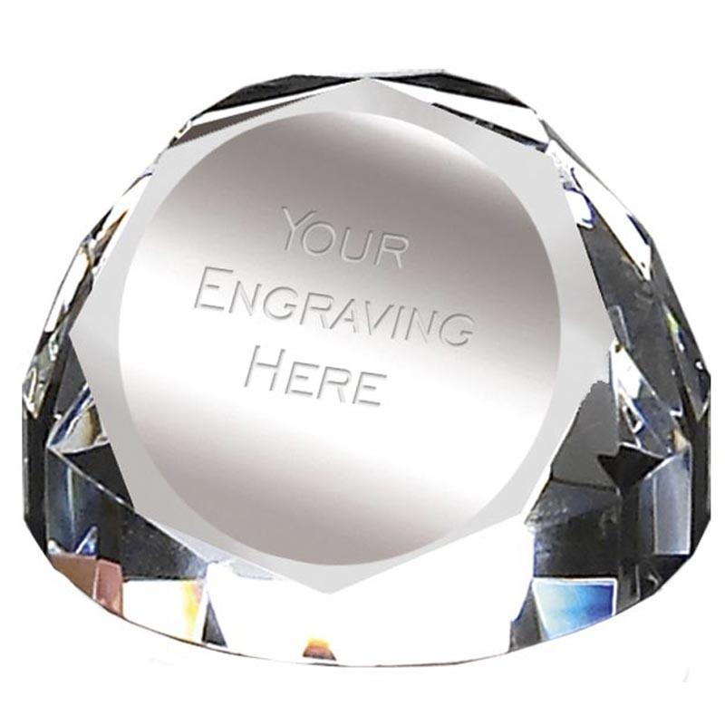 Diamond Dome PaperWeight