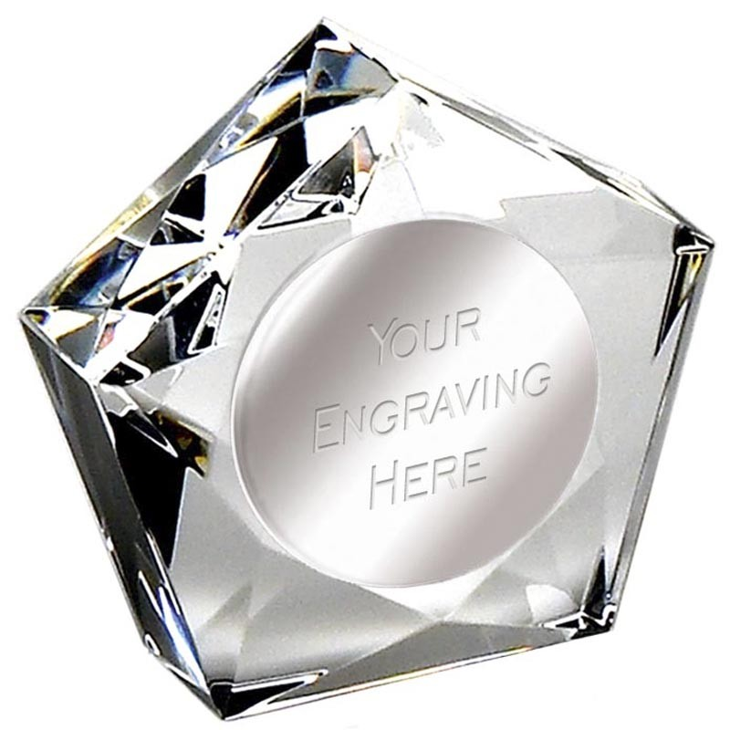 Diamond Star PaperWeight