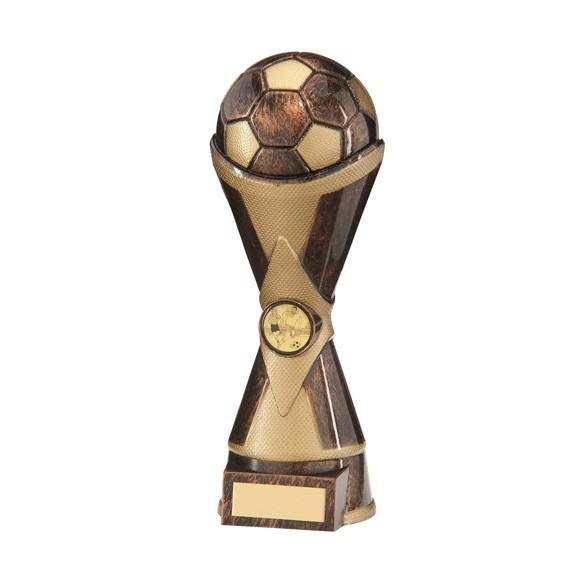 Hawkeye Football Heavyweight Award Antique Bronze & Gold