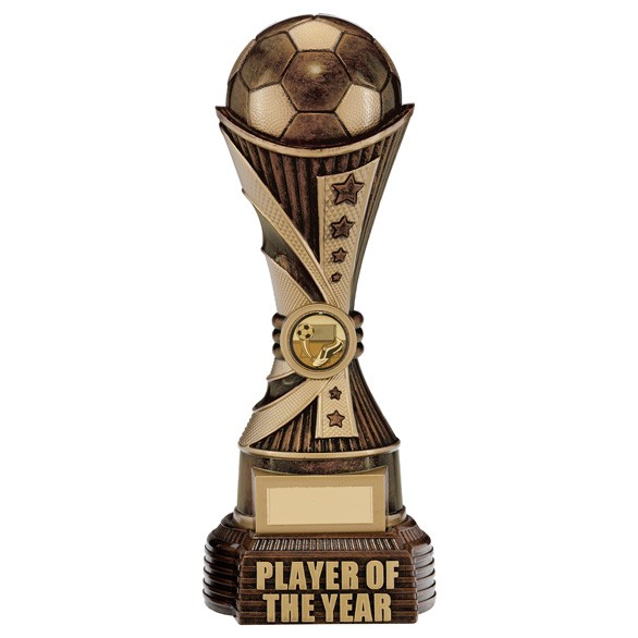 All Stars Player Of The Year Award Antique Bronze & Gold