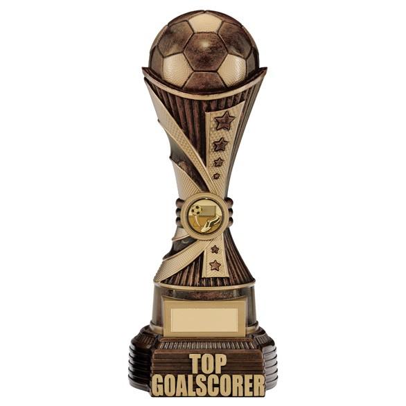 All Stars Top Goalscorer Award Antique Bronze & Gold