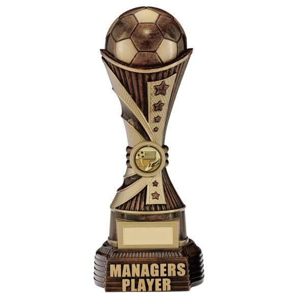 All Stars Managers Player Award Antique Bronze & Gold