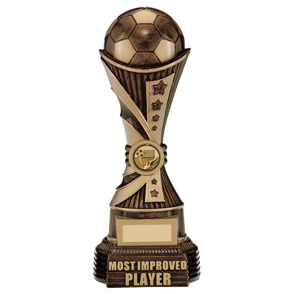All Stars Most Improved Player Award Antique Bronze & Gold
