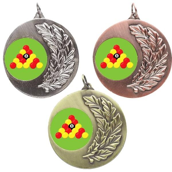 Pool Laurel Medals