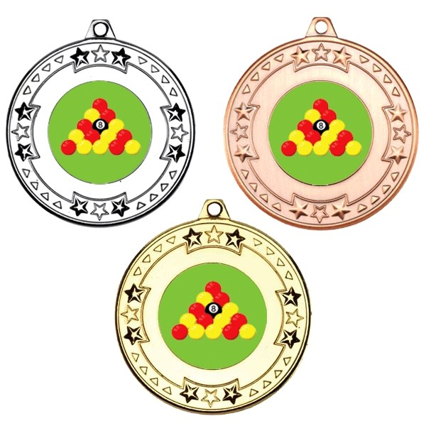 Pool Tri Star Medals