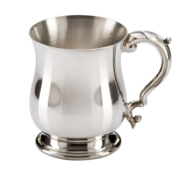 The Georgian English Pewter Tankard