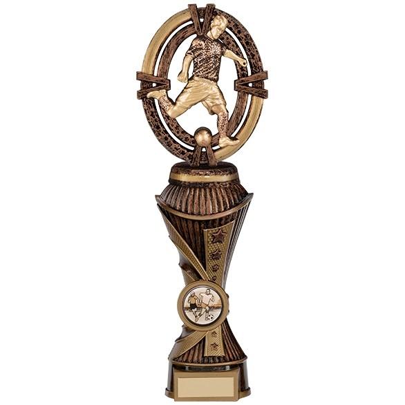 Maverick Football Heavyweight Award Antique Bronze & Gold