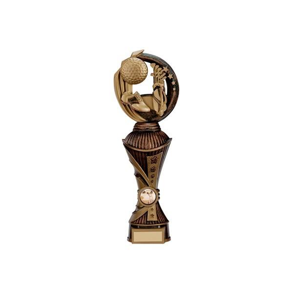 Renegade Golf Heavyweight Award Antique Bronze & Gold