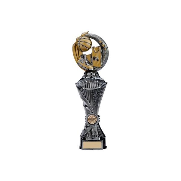 Renegade Basketball Heavyweight Award Gunmetal & Gold