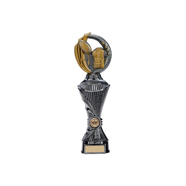 Renegade Rugby Heavyweight Award Gunmetal & Gold