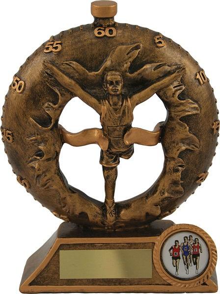 Bronze Male Athletics Trophy