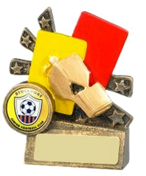 Xblast Football Referee Cards and Whistle