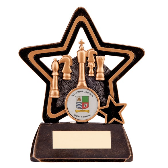 Little Star Chess Plaque