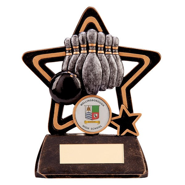 Little Star Ten Pin Bowling Award