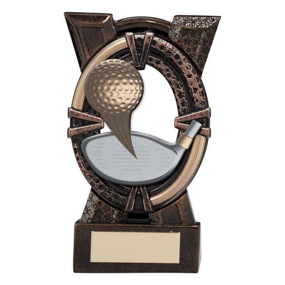 Maverick Spirit Award Golf Bronze